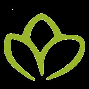 Salatblatt unser kleines Biogartenladen Logo vom Online Shop